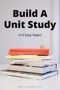 Build a unit study, on any topic, in just 6 easy steps. Learn Another Language, Time Management Tips, Organize Your Life, How To Get, How To Plan, Foreign Languages, Health And Wellbeing, My Mind, Raising