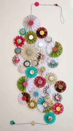 Paper artwork decor