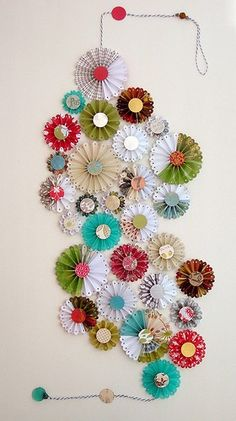 Paper artwork decor