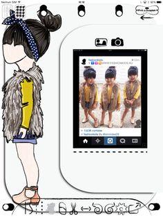 Tribute to Fashion kids starring @emmdee26 (instagram) www.pretatemplate.com