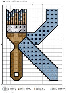 alfabeto della falegnameria K