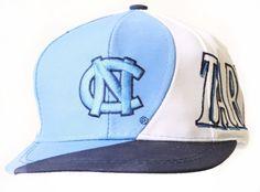 University of North Carolina Snapback Hat - Logo, Blue White Youth Hats. $9.95