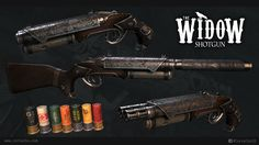The Widow Shotgun at Fallout 4 Nexus - Mods and community