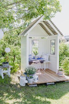 Gazebo Diy, Pergola, Backyard Playhouse, Garden Gazebo, Terrace Garden, Small Gazebo, Gazebo Canopy, Garden Seating, Garden Nook