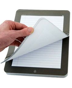 The Poor Man's iPad  I actually want this.  I still find pen and paper faster for taking notes.