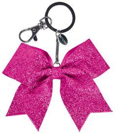 Chassé® Mini Glitter Bow Keychain - Omni Cheer