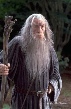 The Lord of the Rings: The Fellowship of the Ring - Publicity still of Ian McKellen Ian Mckellen, Fellowship Of The Ring, Lord Of The Rings, Xmen, Dragon Ball, Frodo Baggins, J. R. R. Tolkien, Harry Potter, Desolation Of Smaug