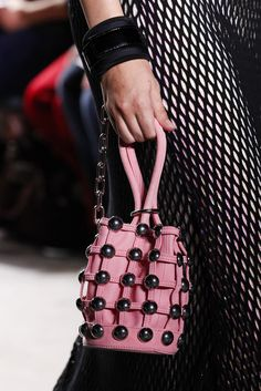 Alexander Wang Bets Big on Bucket Bags for Spring 2017