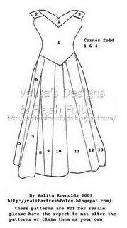 Iris Folding Ball Gown