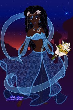 Yemaya ~ Yoruba goddess of oceans and rivers ~ by Kei2lyfe ~ Disney Dress Up