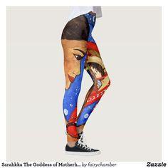 Sarahkka The Goddess of Motherhood Leggings