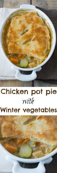 ... Chicken Pot Pies | Recipe | Chicken Pot Pies, Pot Pies and Drunken