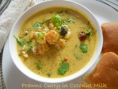 Prawns Curry in Coconut Milk. yes please.