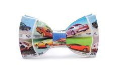 80's cars printed bow tie, high quality print, organic, certificated cotton. Amaizing fabric design! Multi color.