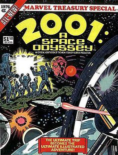 2001: A Space Odyssey comic by Marvel. Art was by Jack Kirby.
