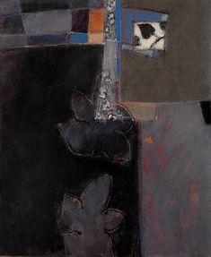 Catherine Severac -des lignes et des couleurs: XII - 73x60 - huile sur toile