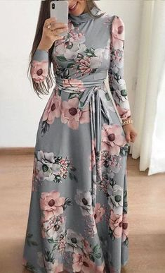 Exceptional boho dresses are available on our web pages. Have a look and you wont be sorry you did. Indian Gowns Dresses, Indian Fashion Dresses, Modest Dresses, Modest Outfits, Nice Dresses, Maxi Dresses, Maxi Outfits, Fashion Outfits, Maxi Dress With Sleeves