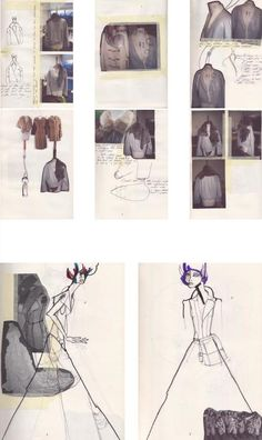 Fashion Sketchbook - fashion design sketches, tailoring development, fashion portfolio // Julius Arthur