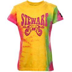 Tony Stewart Youth Girls Race Princess Tie Dye T-Shirt