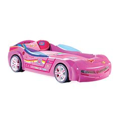 Pretty in Pink Car Bed