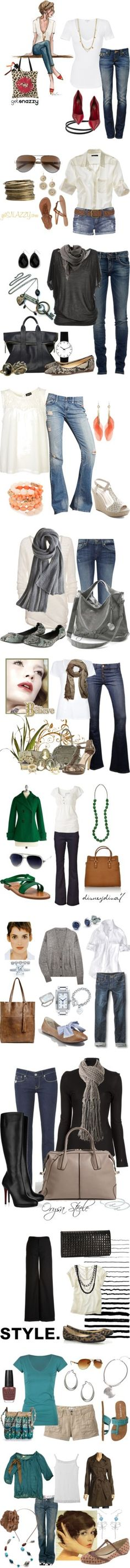 Outfits from Basics - Moms of Polyvore by getsnazzy on Polyvore featuring Sabine, Guerlain, Yosi Samra, Marc by Marc Jacobs, Dorothy Perkins, James Perse, Jane Norman, Tasha, True Religion and Gianvito Rossi