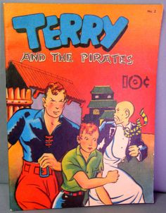 Milton CANIFF TERRY & The PIRATES & many more @QualityComicsAmerica