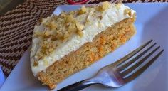 No Sugar Carrot Cake for BariatricEating