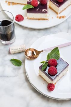 Cheesecake de vino tinto por Chokolat Pimienta