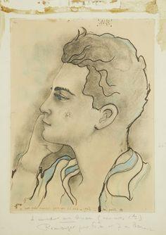 Jean Cocteau (1889-1963), Portrait de Marcel Khill.