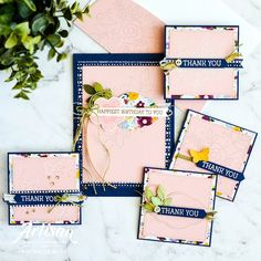 Hello there stamping friends! I hope you are having a fabulous week. It's been a busy one here with my kids home for school holidays and al. Thank You Happy Birthday, Cards For Friends, Friend Cards, Beautiful Handmade Cards, Card Sketches, Cool Cards, Greeting Cards Handmade, Stampin Up Cards, Fun Projects