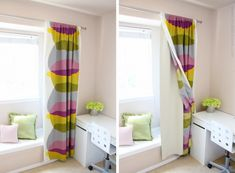 blackout curtains - tutorial