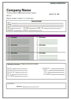 Customer Complaint form Template New Consumer Plaint form Receipt Template, Checklist Template, Layout Template, Templates, Form Example, Letter Example, Attendance Sheet In Excel, My Personal Strengths, Communication Plan Template