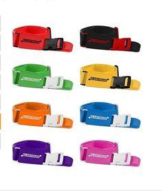 Luggage Straps, Adjustable Non-Slip Baggage Belts - Suitcase Bands for your Trav #ELASTRAAP