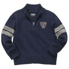 Varsity Pullover Sweater--CUTE!!!!