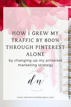 Learn how I used Pinterest marketing to increase my site traffic from 800% from Pinterest alone! Pinterest Marketing   Social Media Marketing   Pinterest Strategy   Pinterest For Business