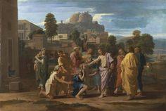 Poussin and God, The Louvre, Paris, France