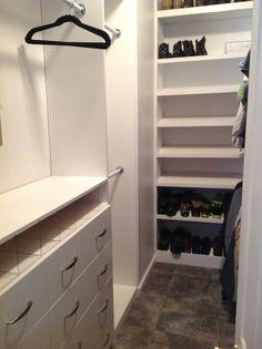 Closet remodel... Loving it