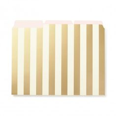Kate Spade Stripes Folder Set