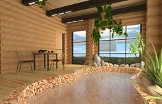 Indoor Swimming Pools and Pool Enclosures Add Luxury to House Designs