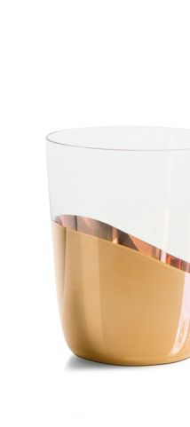 Midas Water Glass - Front