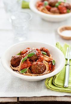 Perfection. #meatballs #italian #pasta