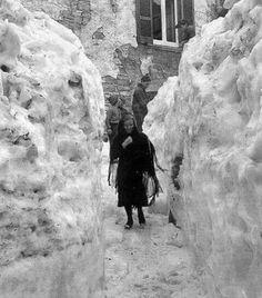 Tonara (NU) La nevicata del '56..