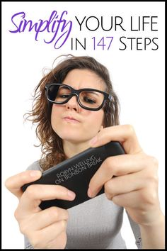 Simplify Your Life in 147 Steps...no problem! Humor by @RobynHTV on BonBon Break!