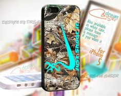 Just Shoot It Deer Camo - Print On Hard Case iPhone 5 Case