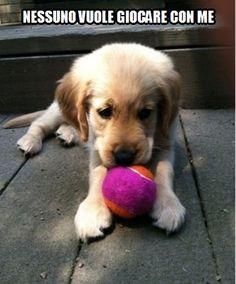 Nessuno vuole giocare con me