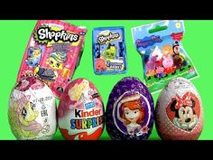 Toys Surprise Shopkins Mystery Bag, Barbie Kinder Huevos Sorpresa, Peppa...