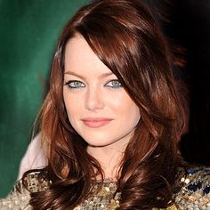 emma stone - Love her hair color