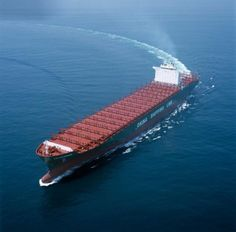 The World's largest Container Ship launched