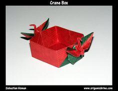Origami Crane Box - Origami Shrine