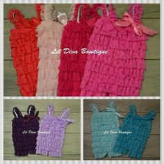 !Lace Rompers, Newborn-Toddler Lace Petti Romper